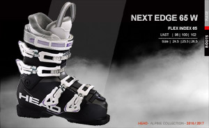 Head Next Edge 65 W | Black Anthracite