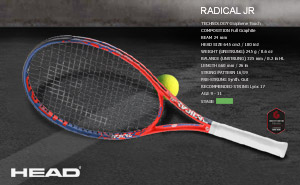 Ракетки Head Graphene Touch Radical Jr. 2019