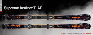 Горные лыжи Head Supreme Instinct Ti Ab 2017