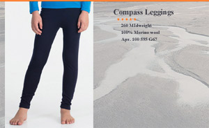 Icebreaker  Compass Leggings 100 595 G67