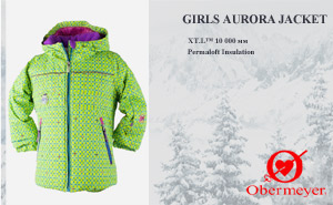 Куртка Obermeyer Girls Aurora Jacket | 51000-082