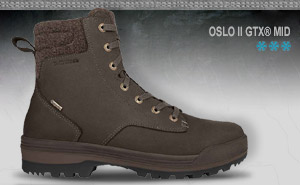 Зимние ботинки Lowa OSLO GTX MID | dark brown