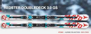 Горные лыжи Atomic Redster Doubledeck 3.0 GS