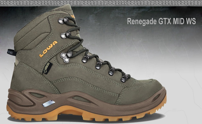 Lowa Renegade GTX Mid Outdoor Hiking Chaussures Navy 310945-6961 Gore-Tex Bottes