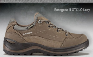 Lowa Renegade III GTX Lo Lady | Brown