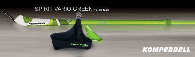 Палки для ходьбы Komperdell Spirit Vario | Green