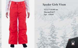 Spyder Girls Vixen 2014 | цвет: Volcano