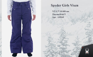Spyder Girls Vixen 2014 | цвет: Regal