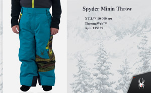 Брюки Spyder Minin Throw 2014 | арт.135355