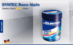 Holmenkol Syntec Race WET Alpin | 0°C до -6°C.