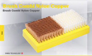 Щётка Toko Base Brush Combi Nylon Copper