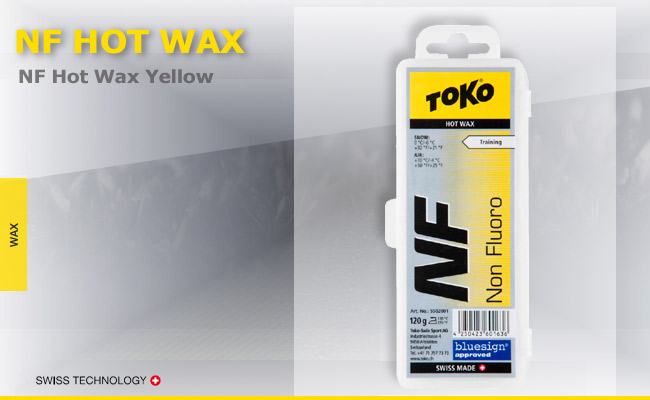 ToKo NF Hot Wax Yellow 120