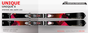 Rossignol Unique 6 | Black Pink