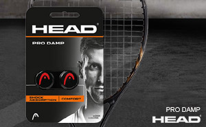 Виброгасители HEAD PRO DAMP | Black Red