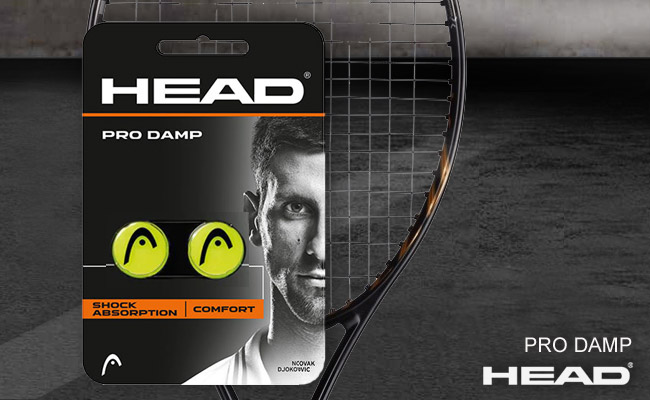 Виброгасители HEAD PRO DAMP | Yellow